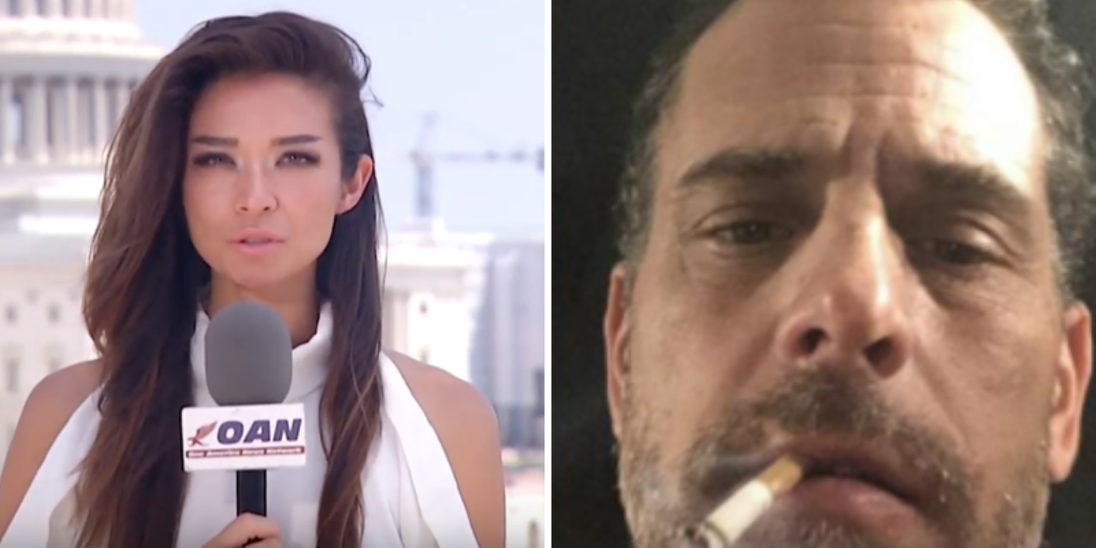 OAN reporter Chanel Rion claims Hunter Biden's hard drive reveals 'drugs, underage obsessions'