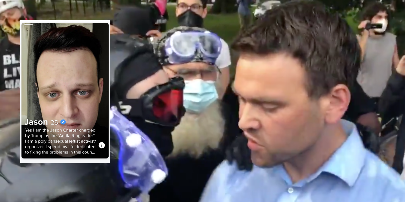 Antifa militant in DC charged for assaulting OANN's Jack Posobiec