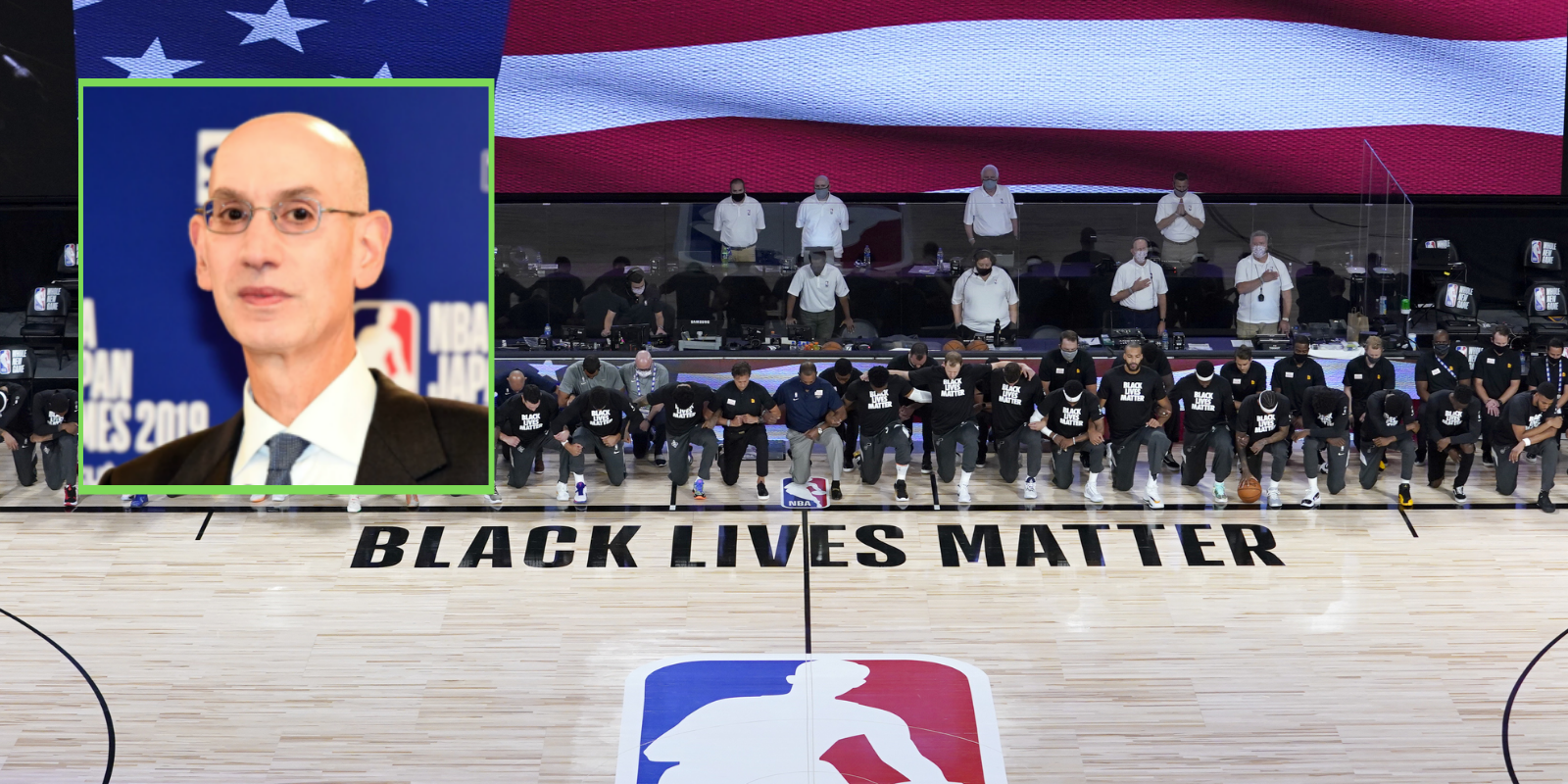 NBA will stop pushing BLM message on the court after ratings plummet