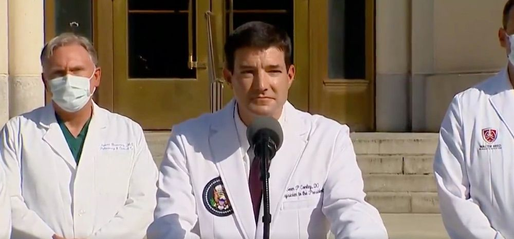 White House physician says Trump has no symptoms 72 hours after being released from Walter Reed