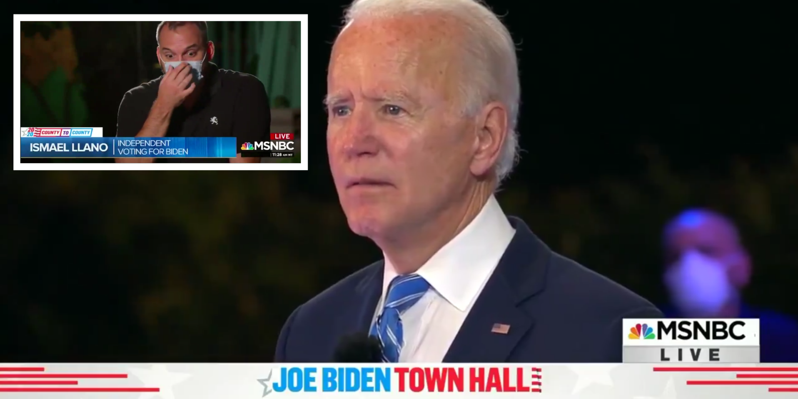 NBC caught passing off Biden voters as 'undecided' during town hall