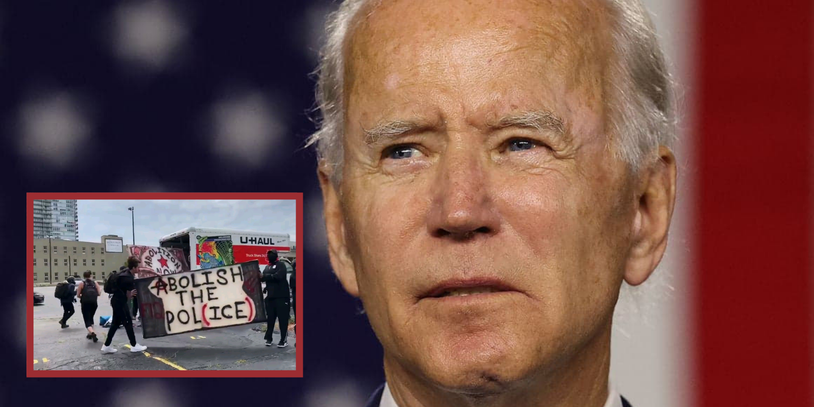 Biden falsely claims white supremacists are to blame for recent riots