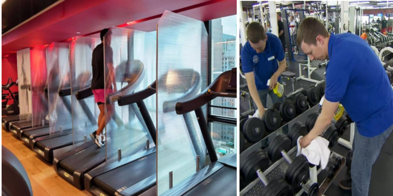 Study shows gyms are 500 times safer than the average public space