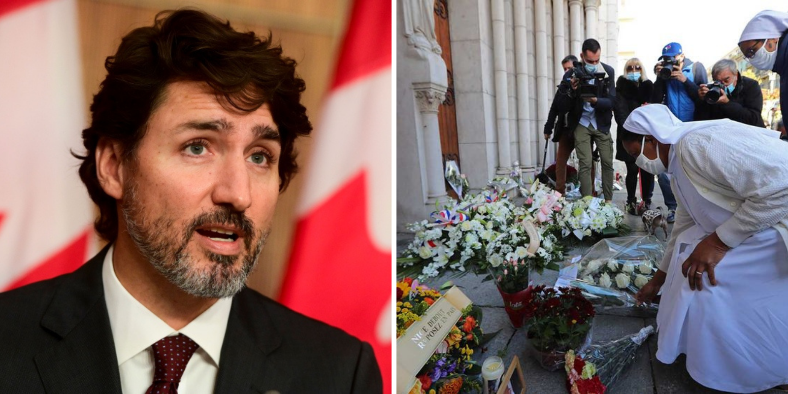Trudeau says 'freedom of expression has limits' after French terror attacks