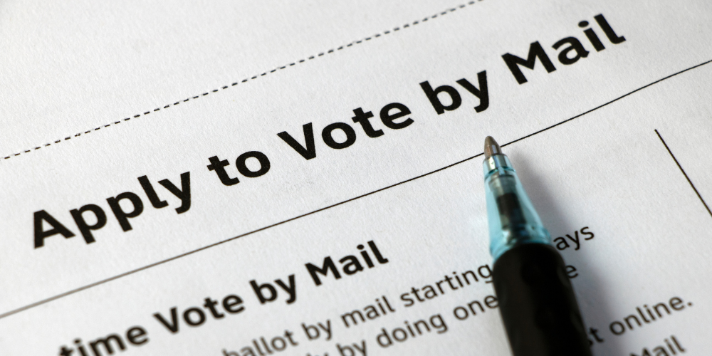Registered Democrat caught requesting mail-in ballot for dead wife