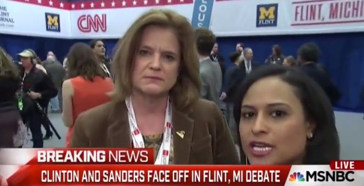 FLASHBACK: Final debate moderator busted on hot mic coaching Clinton campaign director
