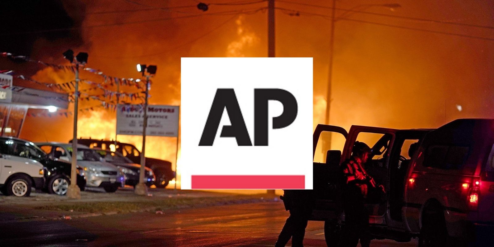 The Associated Press tries to change the definition of 'riot' to protect their rioting friends