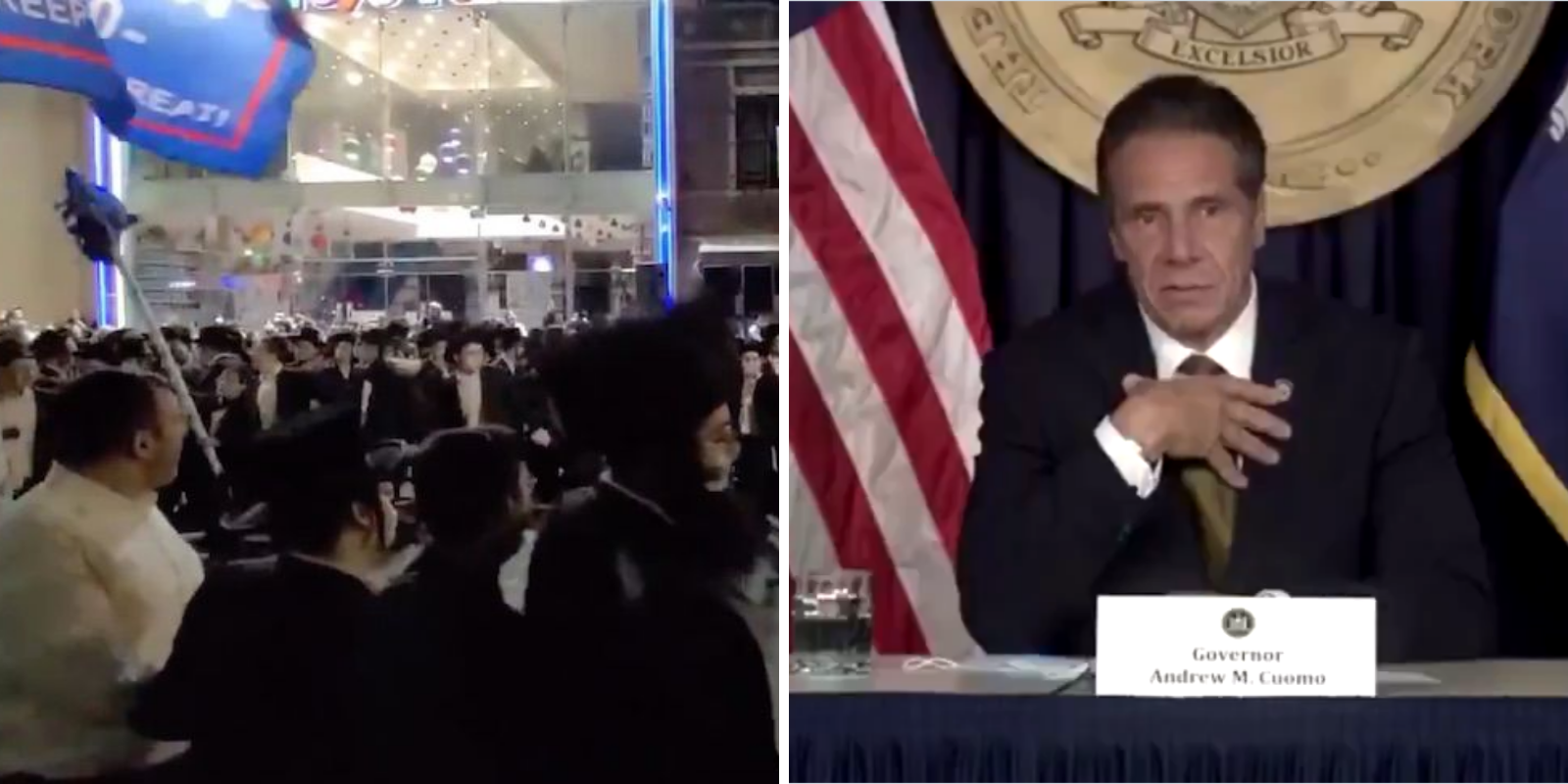 Cuomo says uptick in COVID-19 cases is an 'ultra-orthodox' Jewish problem