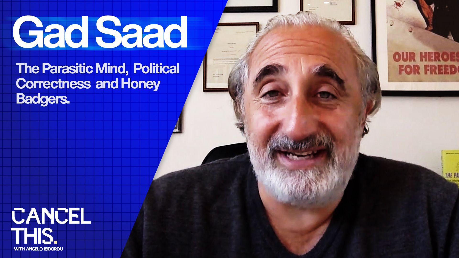 Gad Saad on his new book, The Parasitic Mind — CancelThis