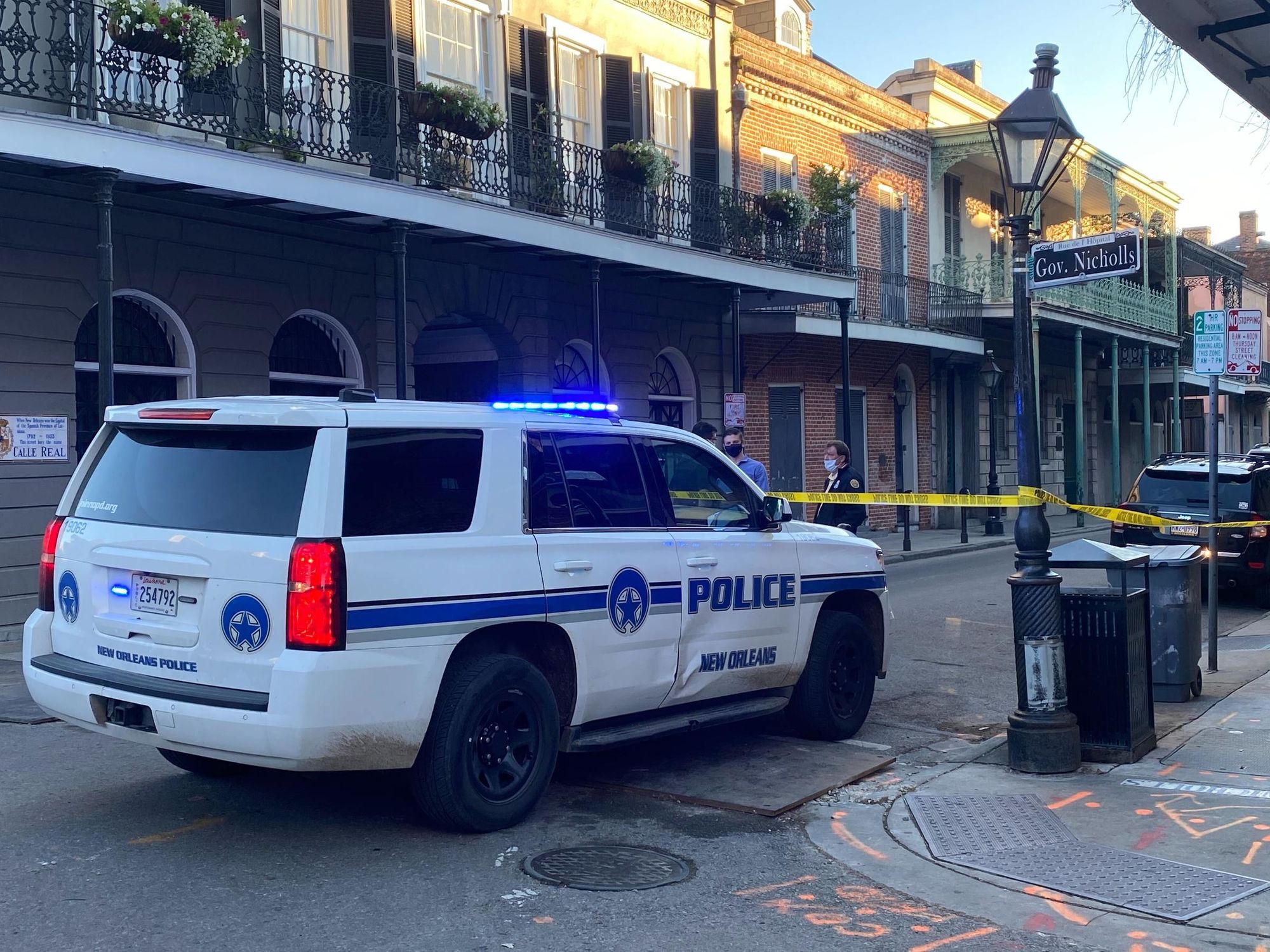 New Orleans police officers shot in 'ambush'