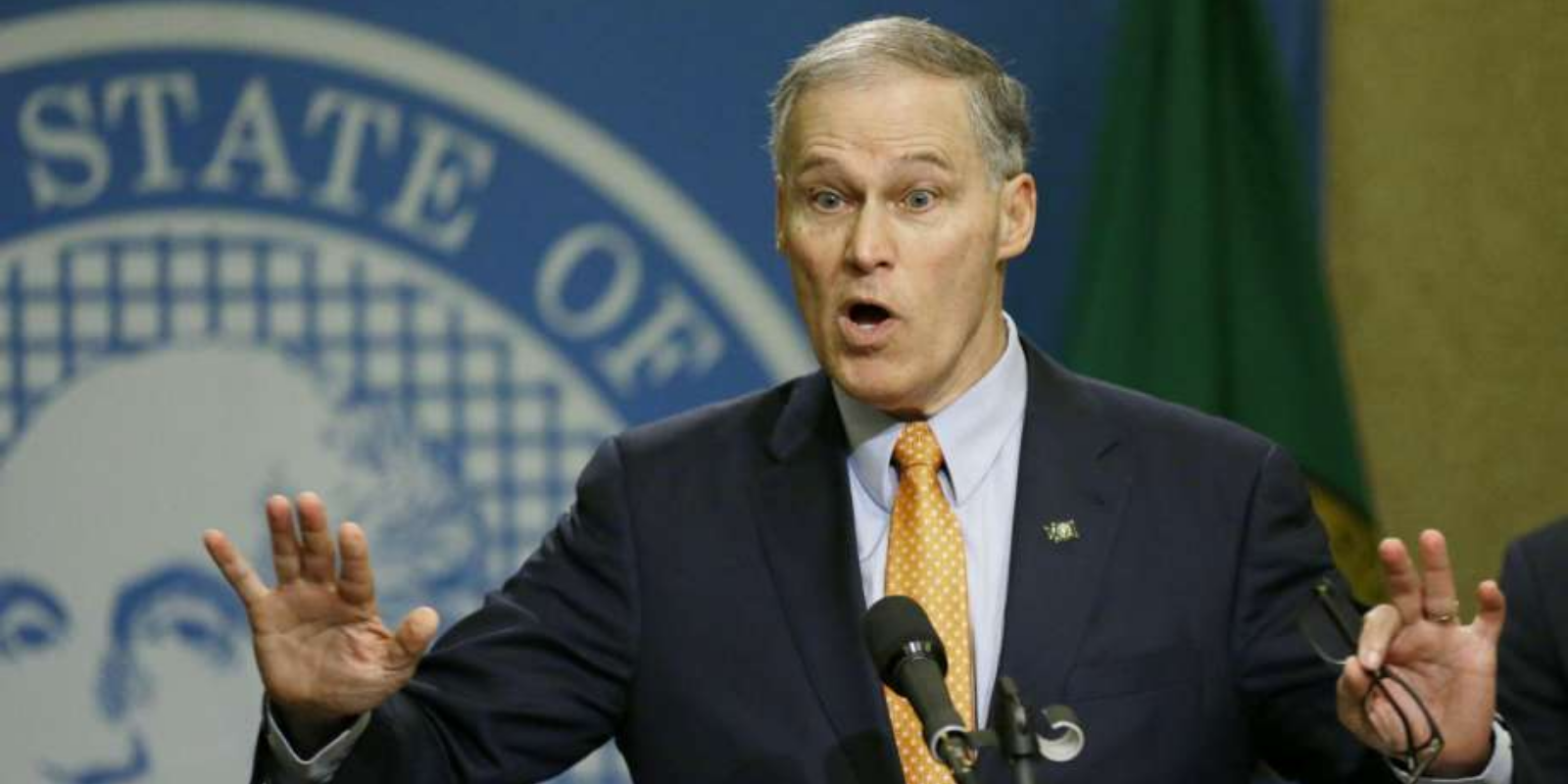 Washington governor busted lying about shutting down freeways during Seattle riots