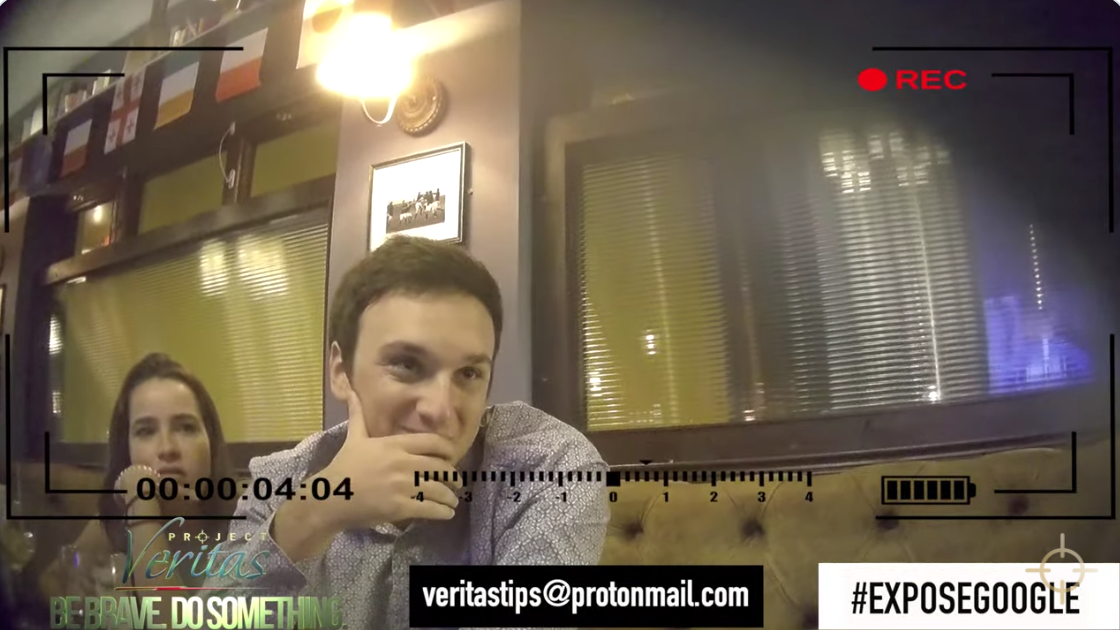 BREAKING: Project Veritas exposes Google executive discussing censorship and election interference