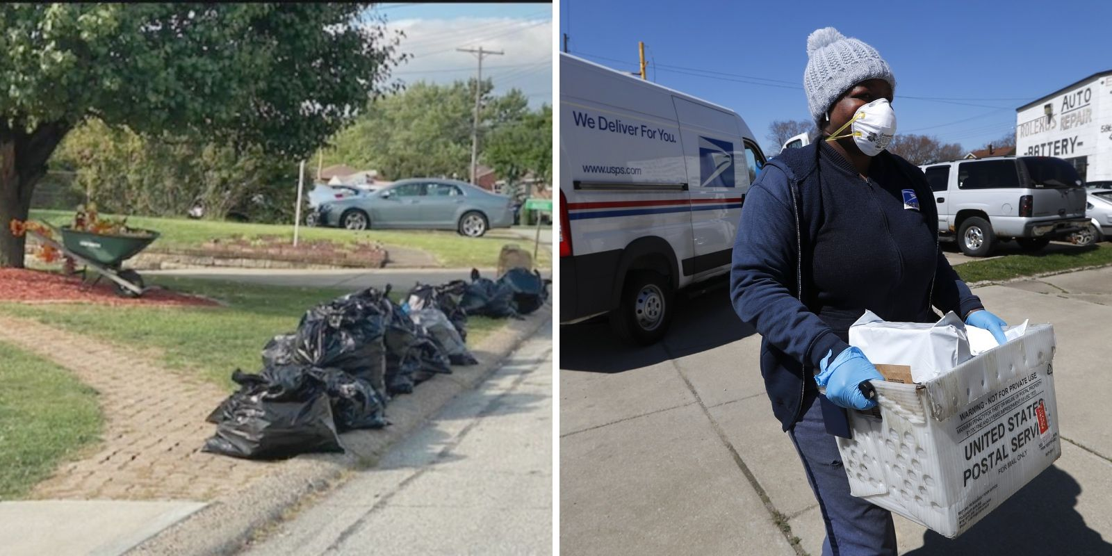 FBI raids postal carrier's home and seizes trash bags full of mail