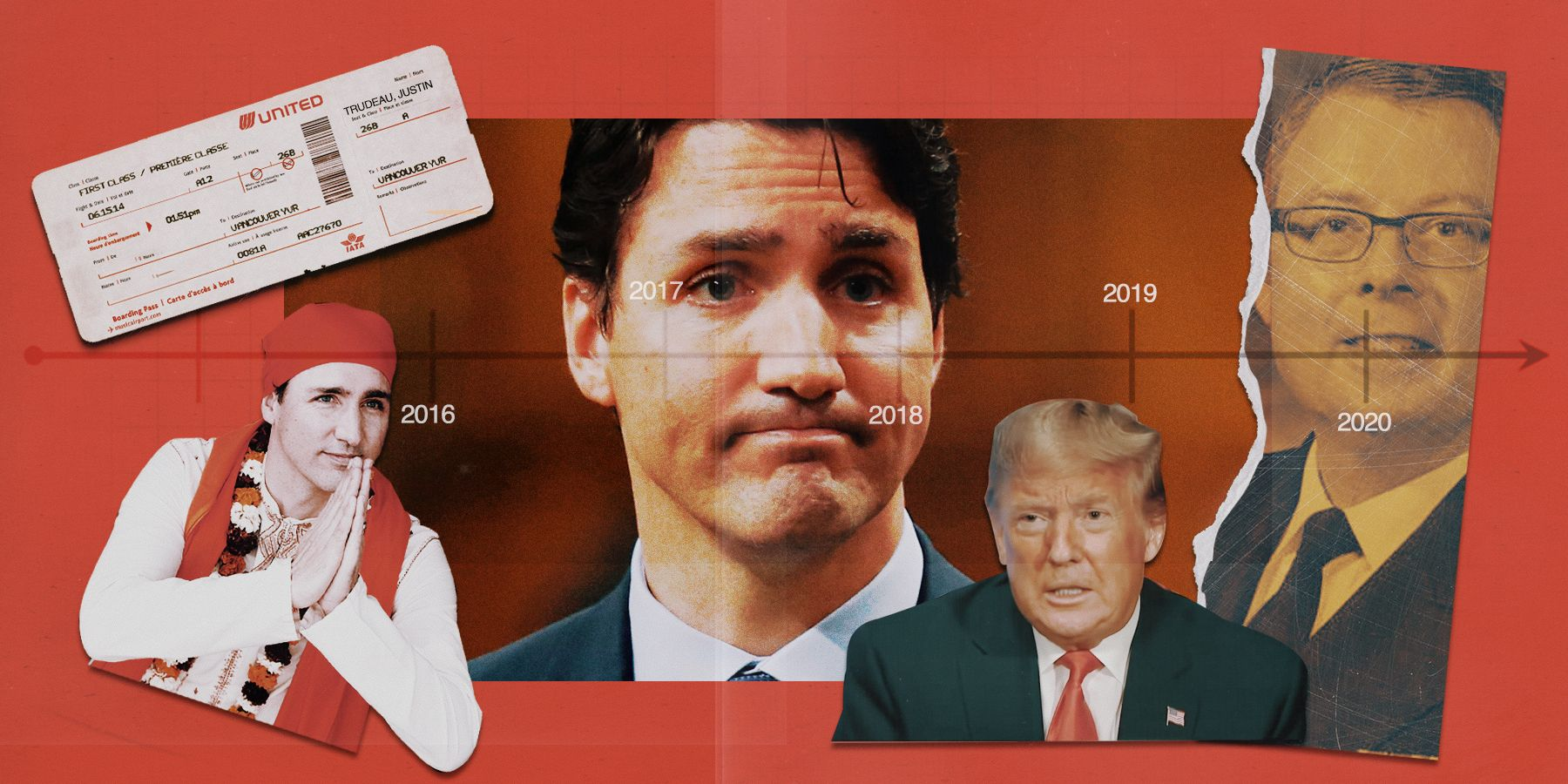 Four Trudeau scandals he's glad you forgot