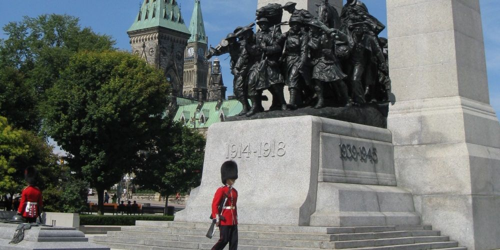 Trudeau commemorates anniversary of Parliament Hill shootings