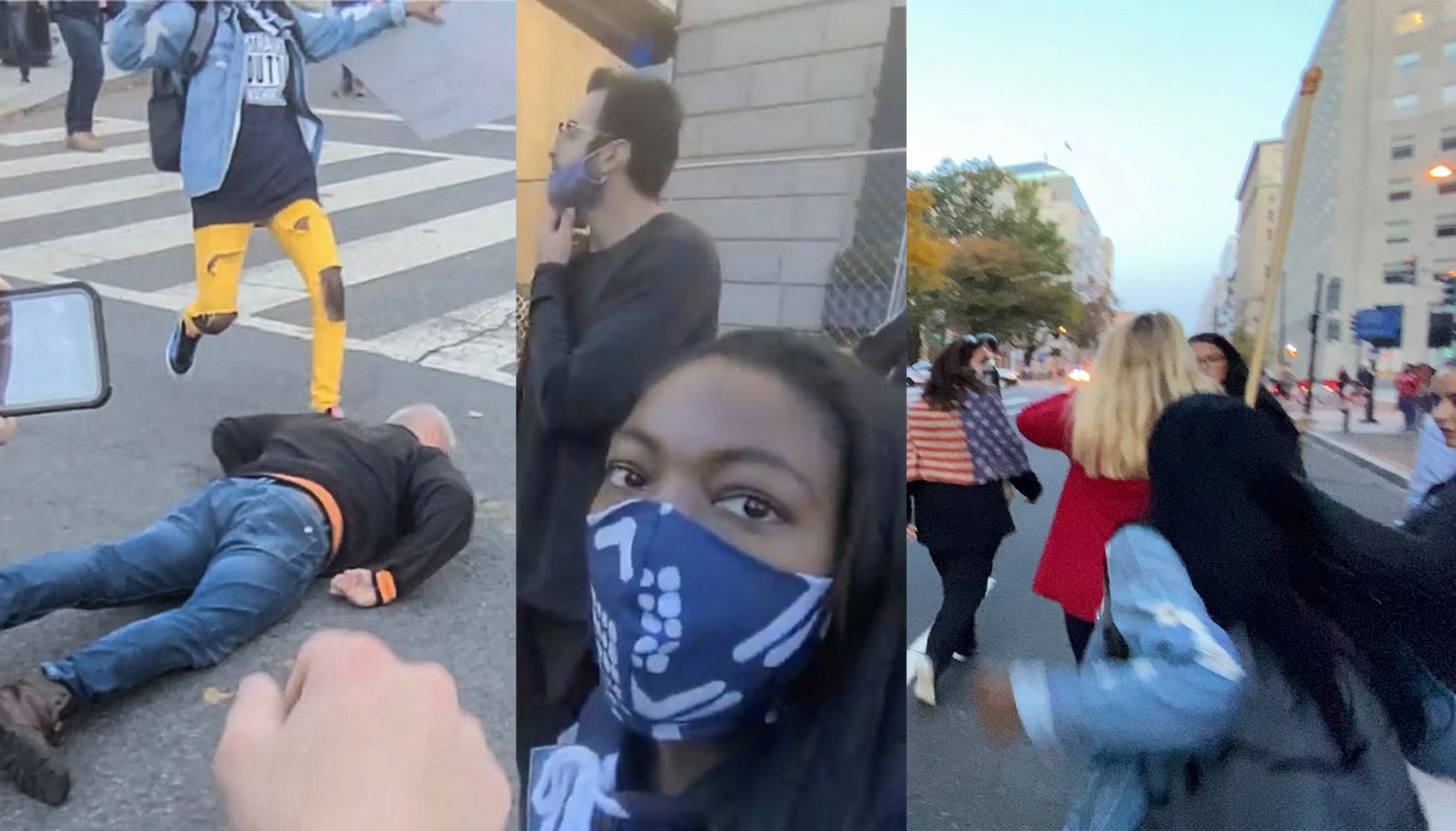 EXCLUSIVE: Suspect filmed beating Trump supporters in DC is a journalism student