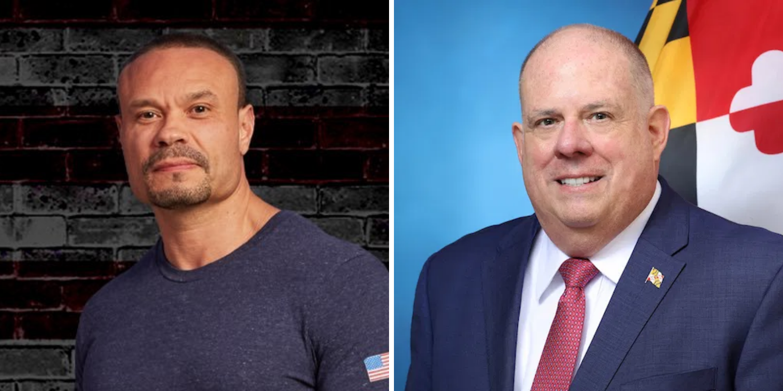 Dan Bongino calls Maryland Gov 'pathetic loser' after he calls for Trump to concede