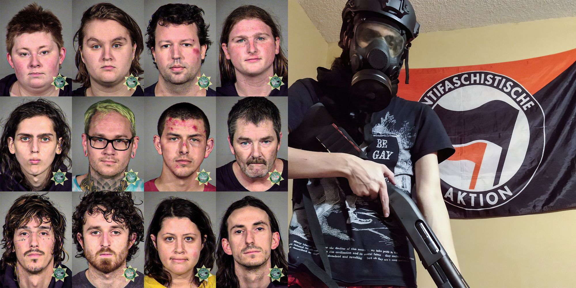 'Traveling protester' among those arrested at post-election Portland Antifa riot