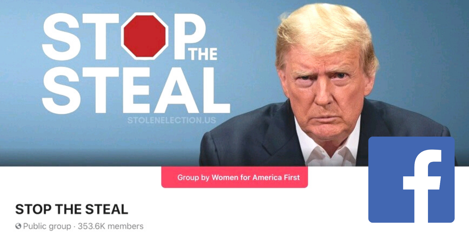 BREAKING: Facebook shuts down 'Stop the Steal' group