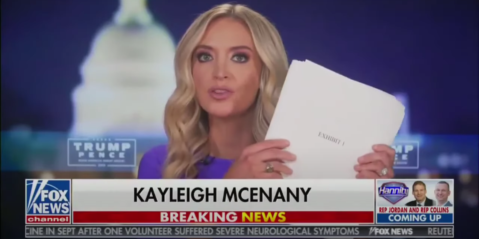 WATCH: Kayleigh McEnany and RNC's Ronna McDaniel reveal hundreds of affidavits alleging voter fraud