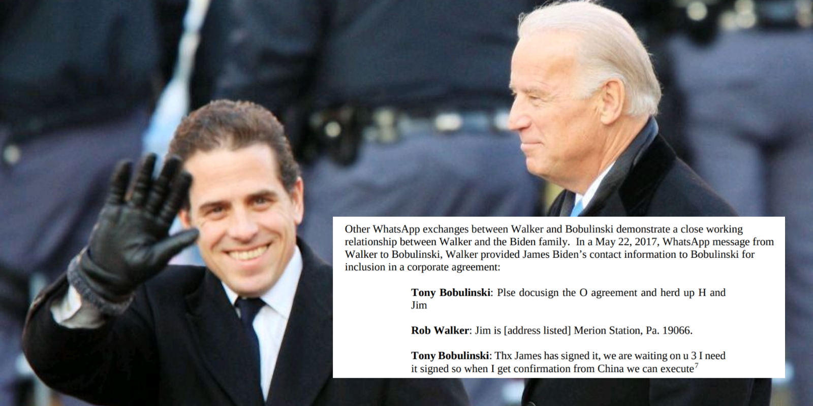 New Senate findings 'confirm the connections' between Biden family and Chinese, Russian governments