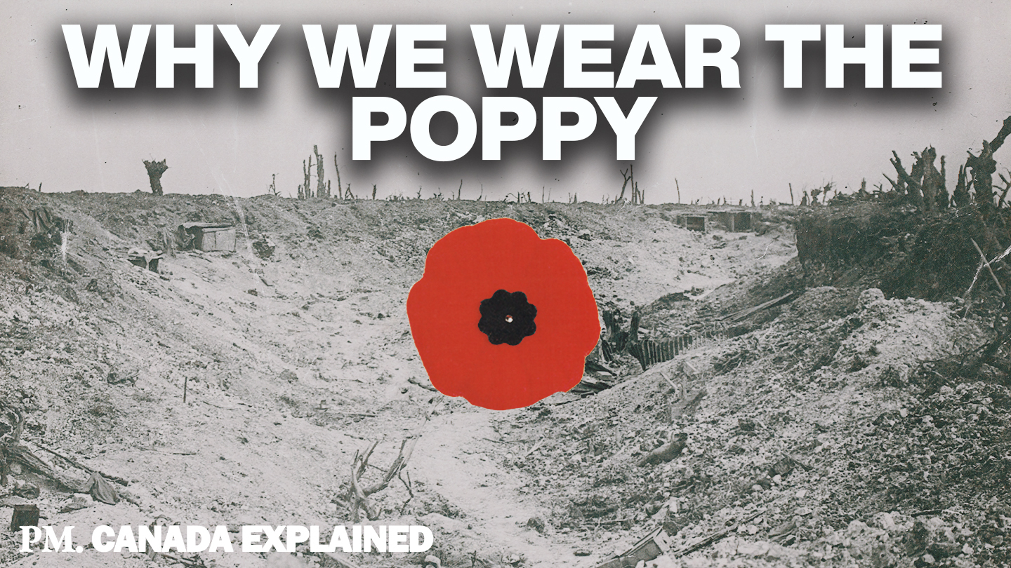 Why Canadians wear poppies and why Americans don't