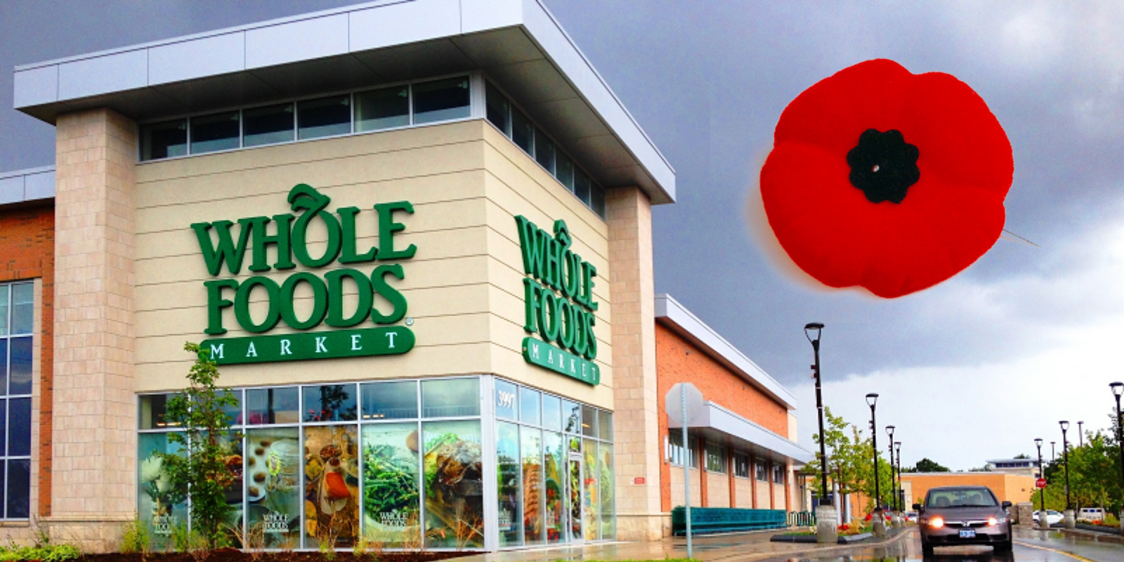 Whole Foods bans employees from wearing poppies