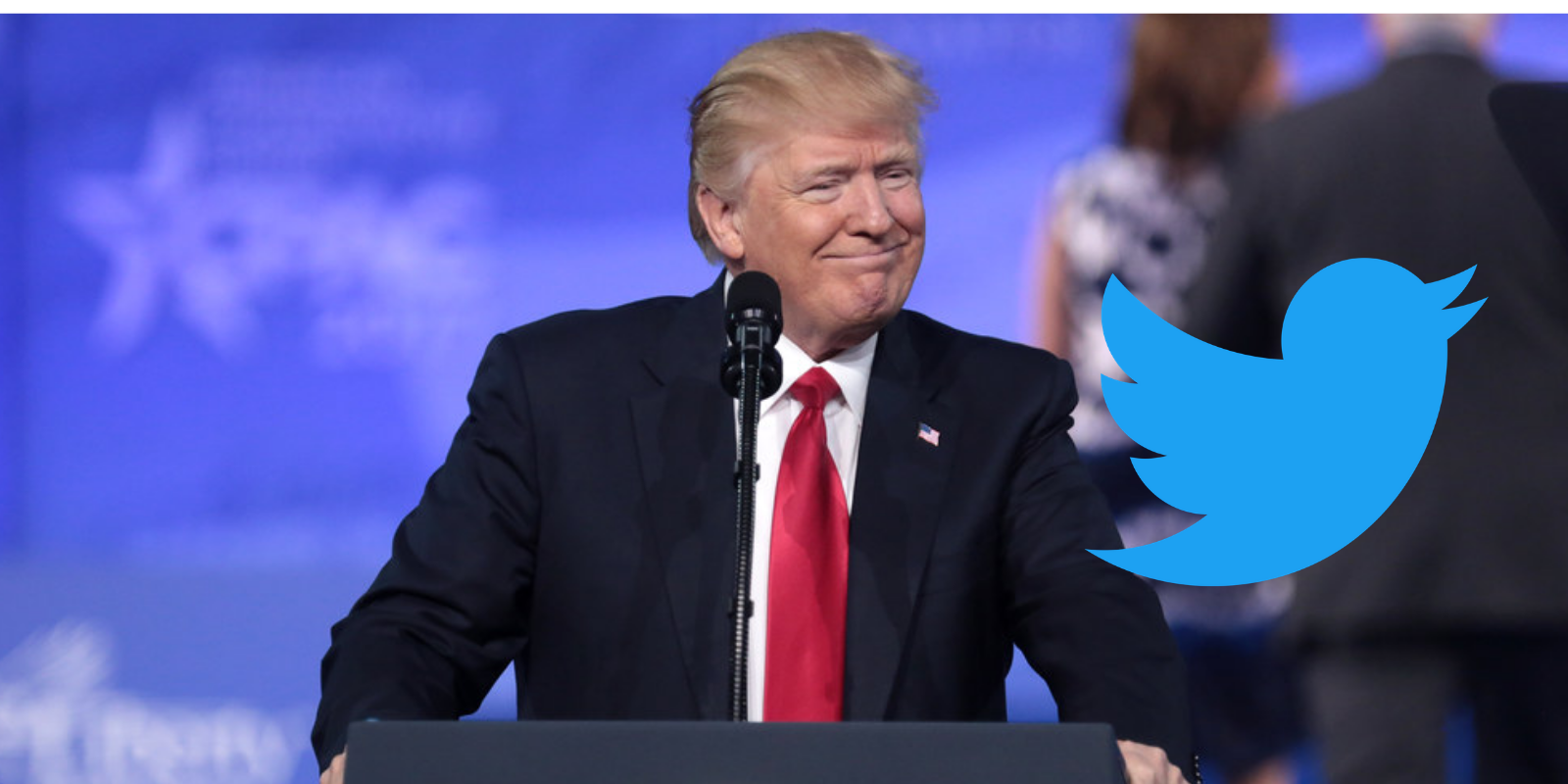 Twitter has censored 13 out of the past 40 Trump posts