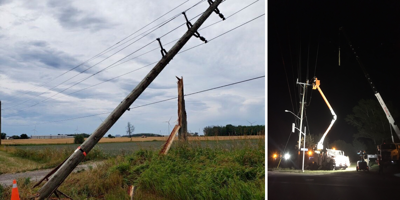 Hydro One working to restore power to more than 200,000 Ontarians following wind storm