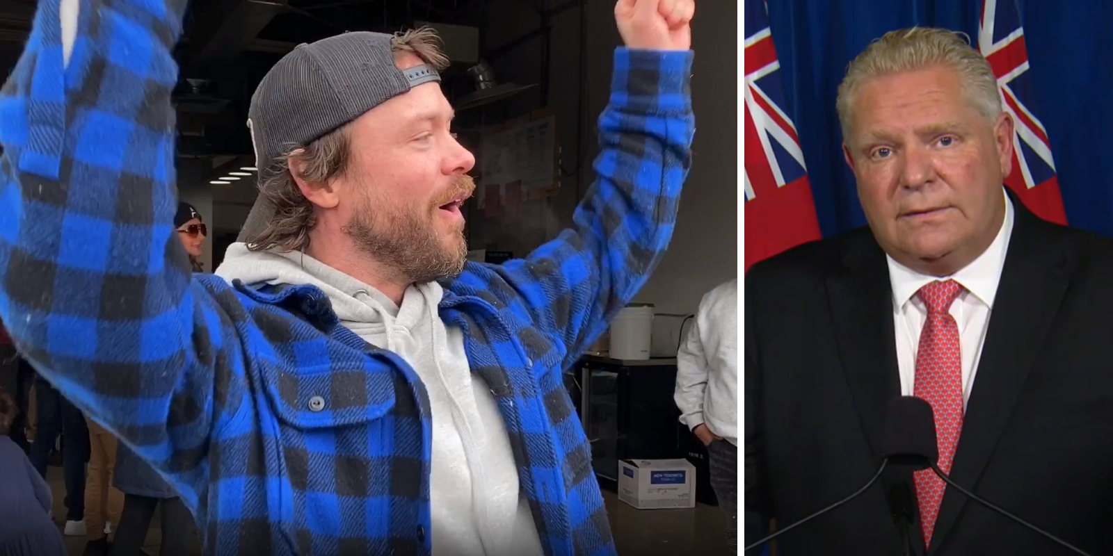 'Buddy, you need to shut down': Ford blasts Adamson BBQ owner for 'putting people's lives in jeopardy'