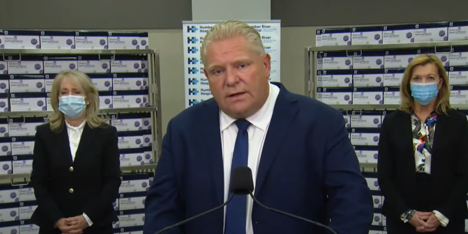 Ford government asks people to celebrate holidays with household only