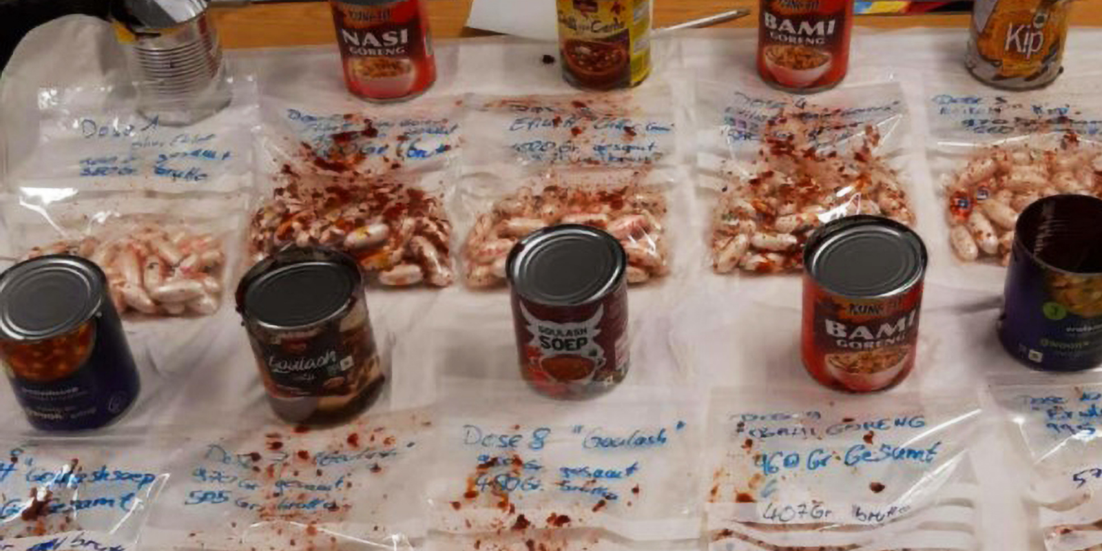 Food cans and cheeseburgers: Drug smugglers' latest ploys