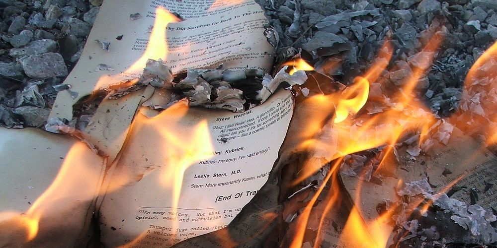 Berkeley professor calls for book burnings