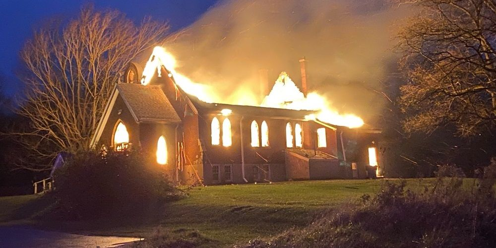 Police investigating after two Ontario churches destroyed in 'suspicious' fires