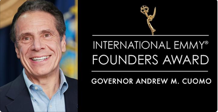 BREAKING: Governor Cuomo to receive special Emmy award for his 'leadership' during COVID-19 crisis