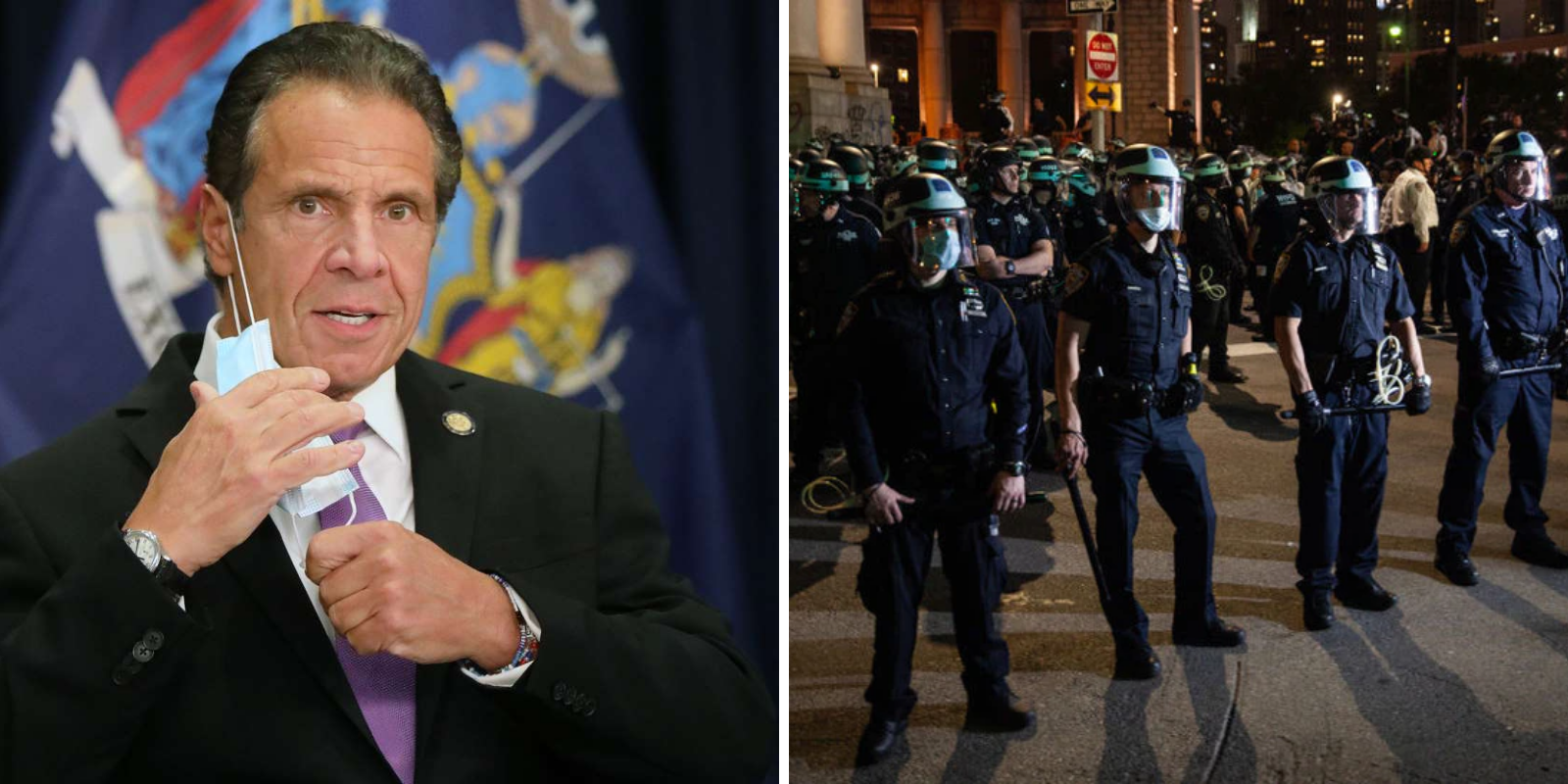 NYPD 'will not be enforcing' Cuomo's anti-Thanksgiving orders