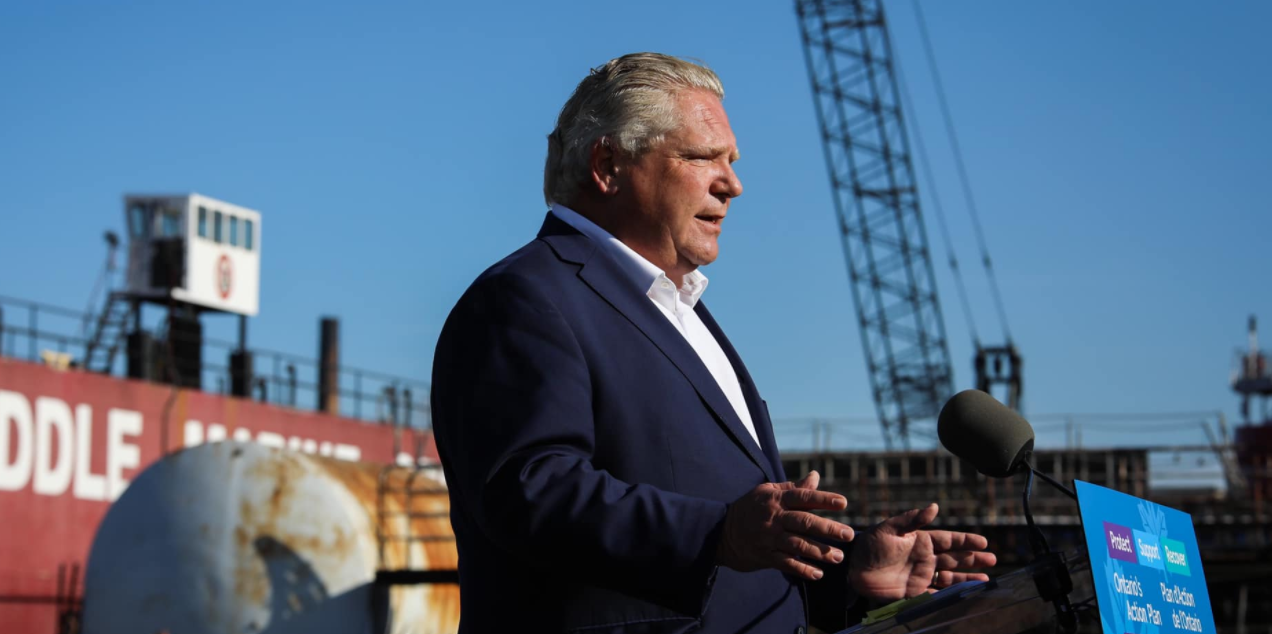 Ford says Ontario is 'staring down the barrel of another lockdown' as more regions enter 'Red Zone'