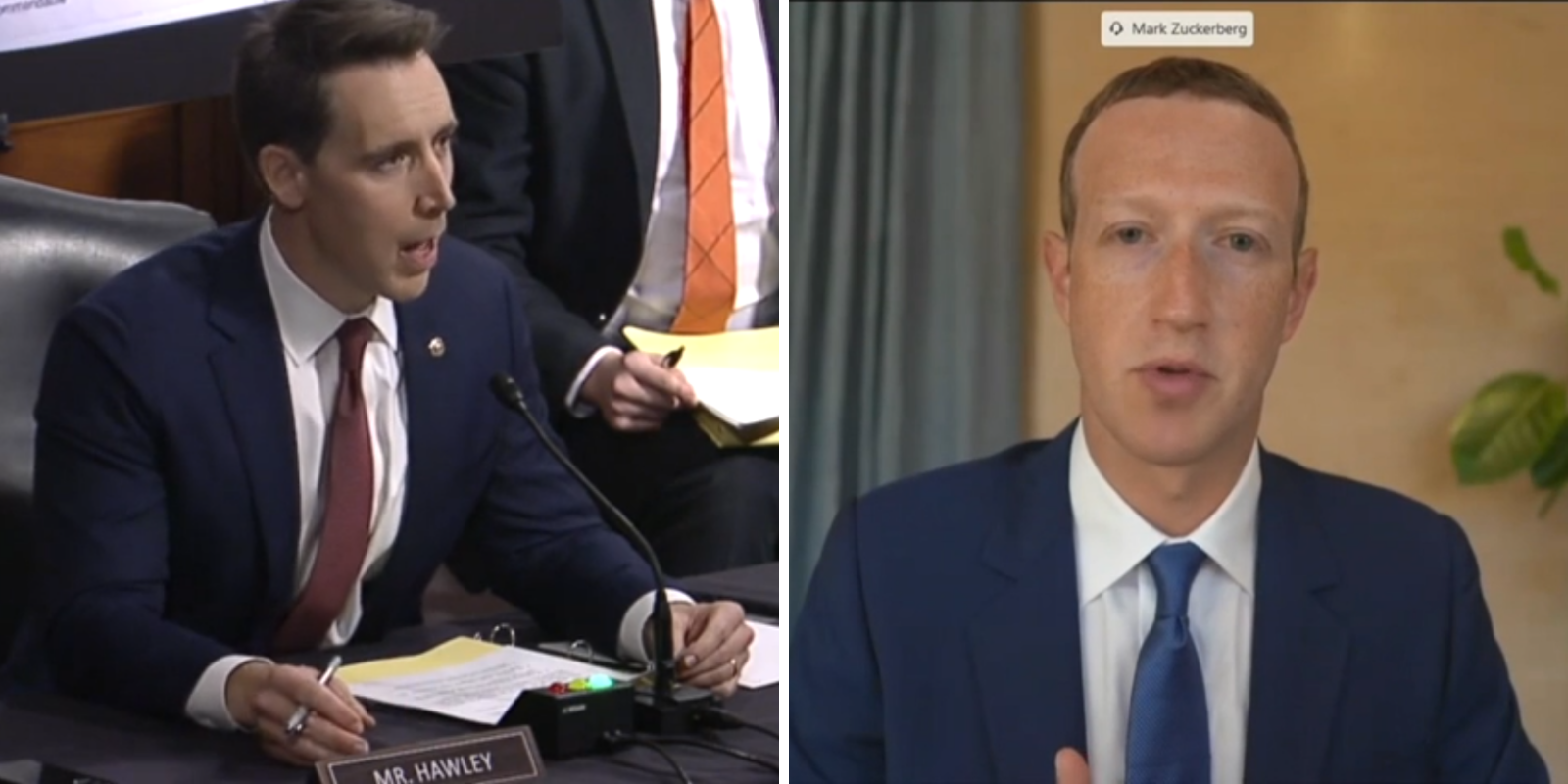 Sen. Hawley calls out Zuckerberg and Big Tech for alleged collusion on censorship