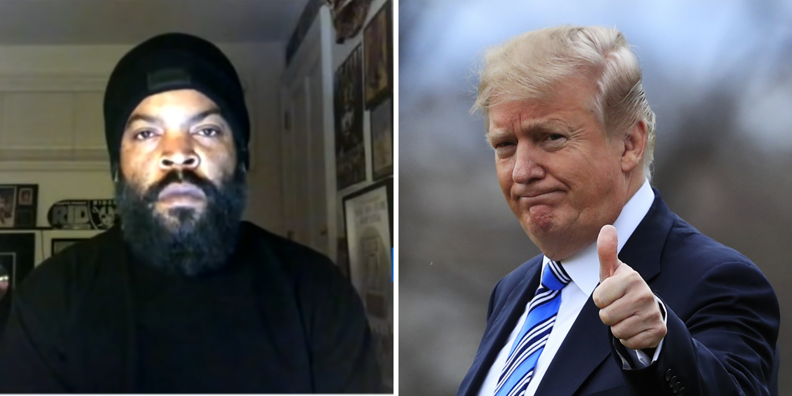 Ice Cube supports Trump's plan for black Americans