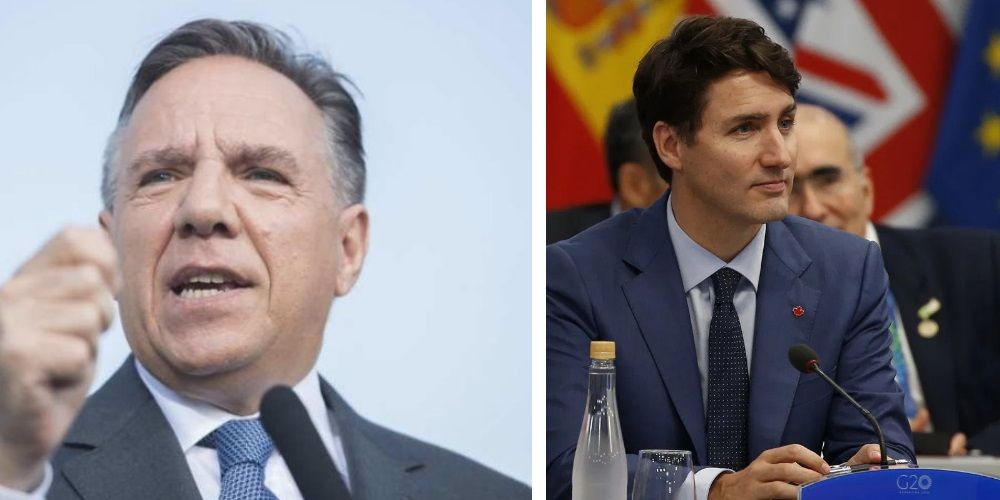 Quebec premier slams Trudeau for saying 'freedom of expression has its limits' after terror attack