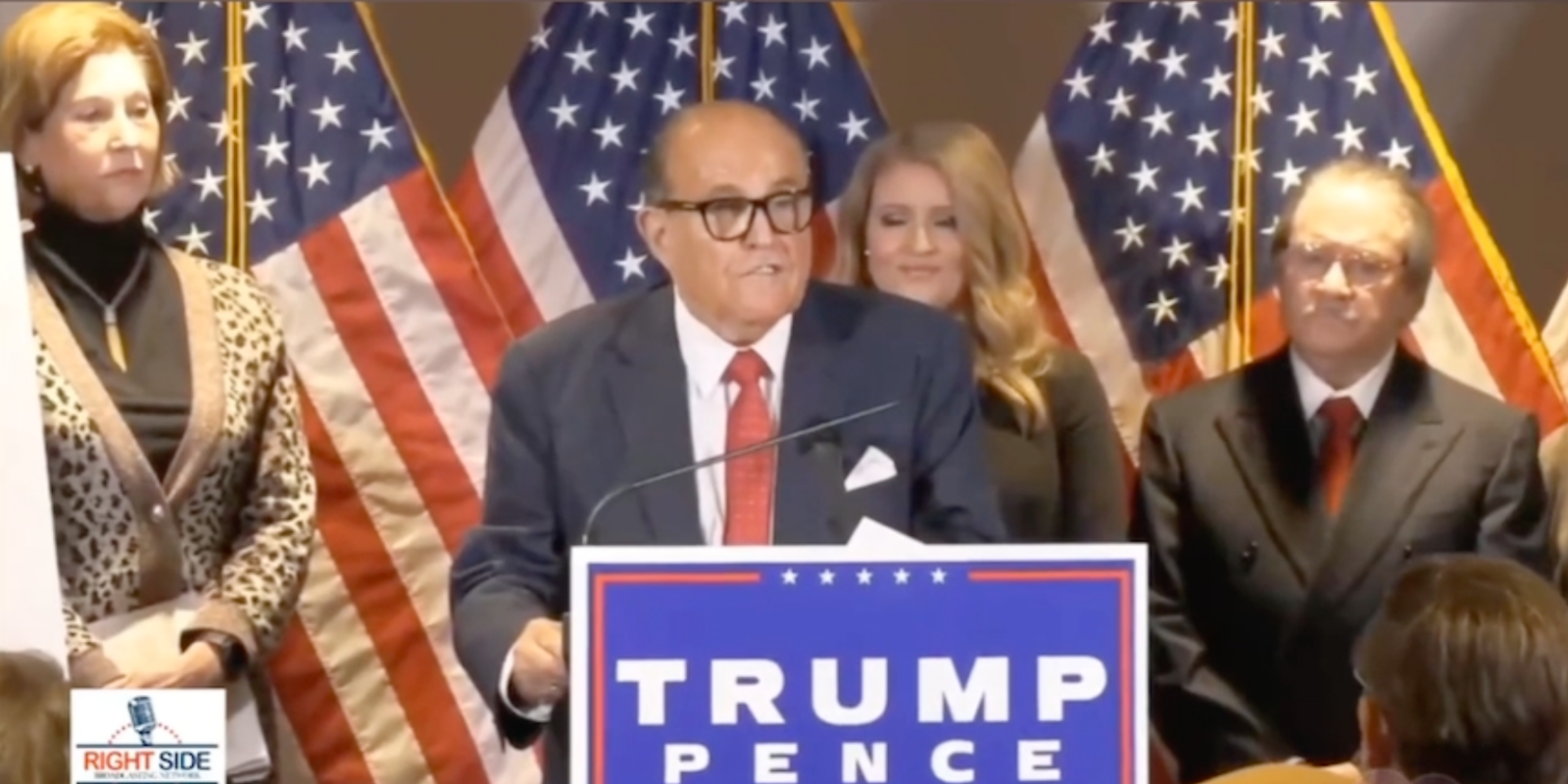 BREAKING: Trump lawyers allege massive fraud in major press conference