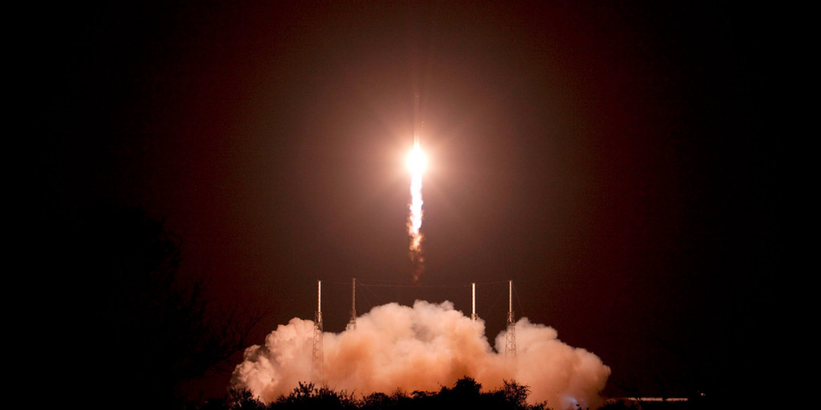 SpaceX sends first of six crewed missions to the International Space Station