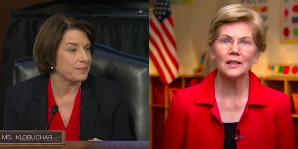 BOMBSHELL: Klobuchar and Warren wrote letters criticizing Dominion & other voting tech a year ago
