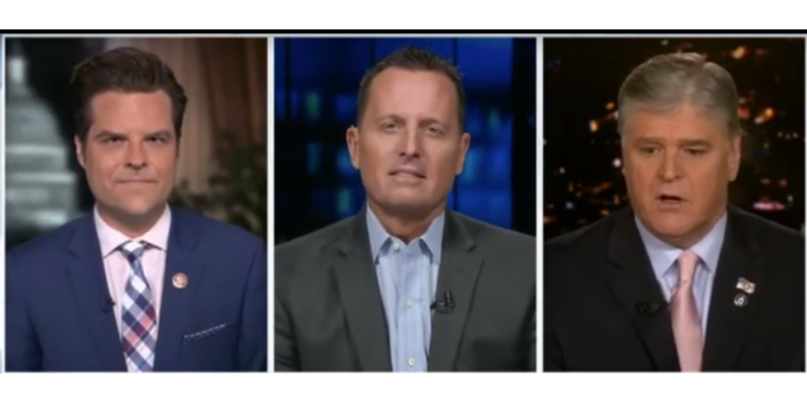WATCH: Ric Grenell and Matt Gaetz slam Eric Swalwell, suggest there are other powerful figures compromised by China