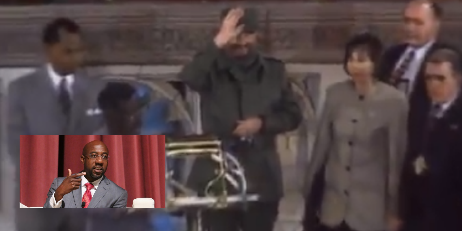 MUST WATCH: Fidel Castro received standing ovation at the church of Democratic Georgia senate candidate Raphael Warnock