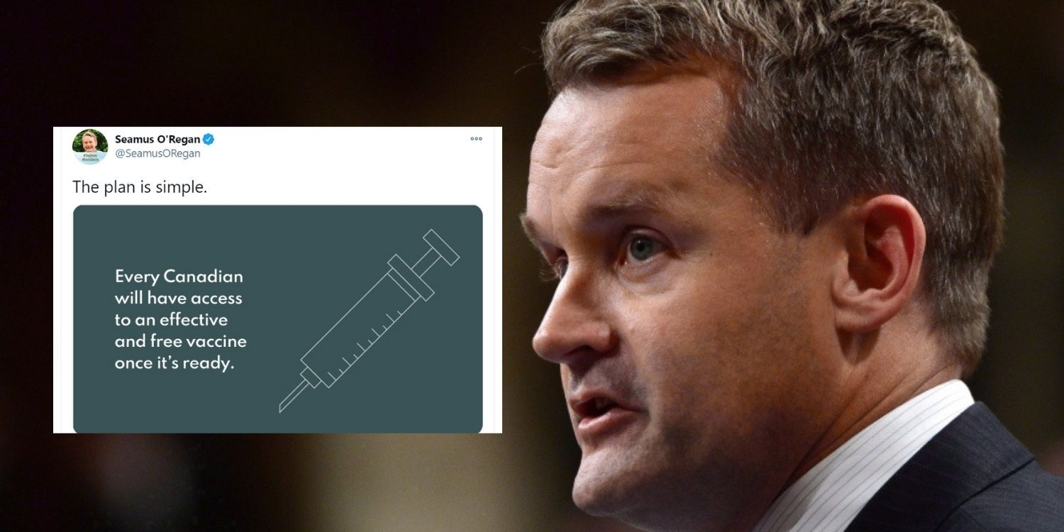 Liberal minister trolled after posting misleading vaccine information