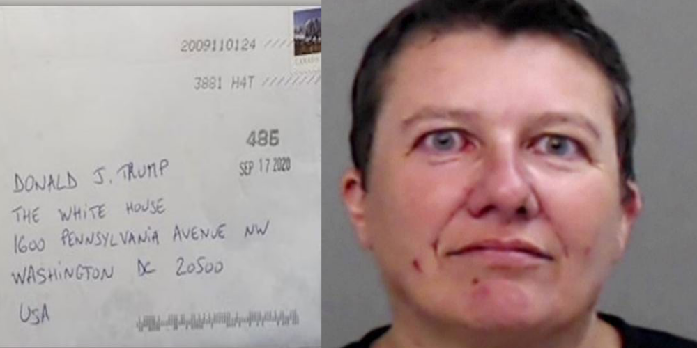 BREAKING: Canadian woman indicted for allegedly sending ricin-filled envelopes to Trump
