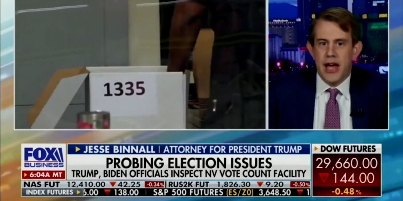 Trump legal team to submit evidence of over 40,000 people who voted twice in Nevada
