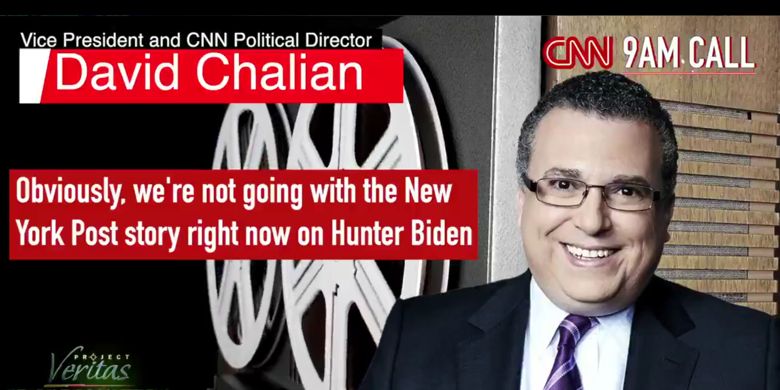 BREAKING: Project Veritas BUSTS CNN suppressing New York Post's Biden Bombshell