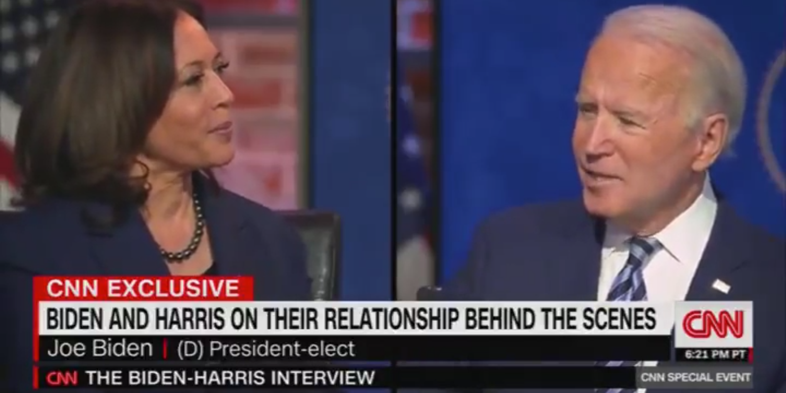 WATCH: Joe Biden says he'll 'develop some disease and resign' if he and Kamala Harris disagree